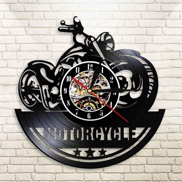 Motorcycle Wall Clock 8