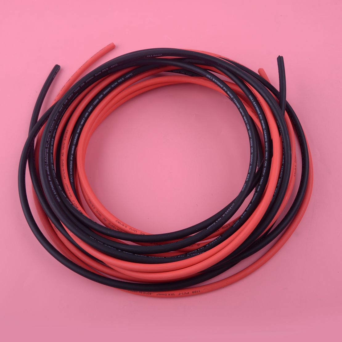 LETAOSK 1 Pair High Quality Solar Panel Extension Cable Wire MC4 Connector 10 AWG 5m 10m 16.4ft 32.8ft