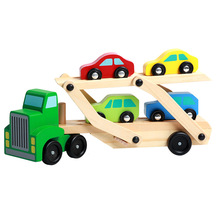 Montessori Toys Educational Wooden Toys for Children Early Learning Preschool Teaching Materials Car Games early efl vocabulary learning impact of games