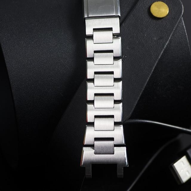 Pasek do zegarka Casio g-shock MTG-B1000 MTG-G1000 316L ze stali nierdzewnej pasek do zegarka Casio pasek G shock pasek bransoletka