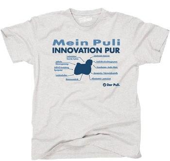 Camiseta Tinno innovación Pur Puli perros siviwonder-Mostrar título original