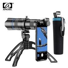 Apexel Telescoop Zoom Phone Camera Lens Telelens Voor Iphone Xiaomi Smartphone Lenzen