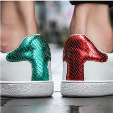 High Quality Men Bee Embroidery Little White Shoes Women New Light Classic