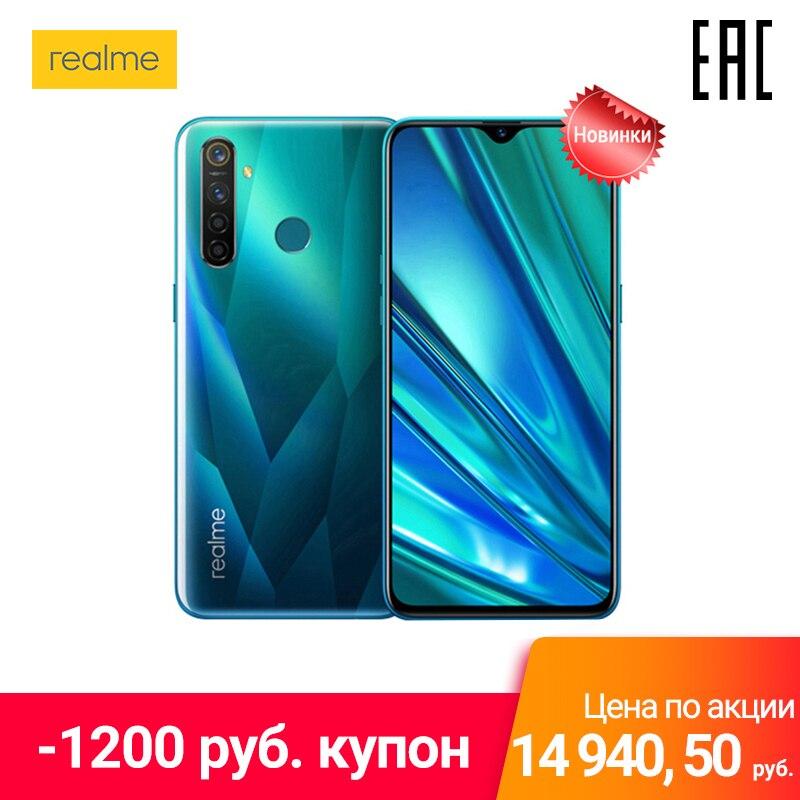 Smartphone realme 5 Pro 128 GB, Quadro della macchina fotografica 48 MP мпофициальная Russo, prodotto in FABBRICHE Oppo