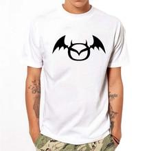 T-shirt Men Summer Short Sleeve line Print Top Fashion Cotton Tee Slim Casual Tees