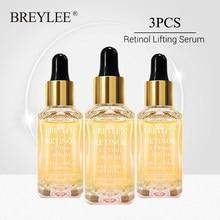 BREYLEE-suero Retinol reafirmante para el cuidado de la piel, esencia de colágeno para Lifting Facial, antiarrugas, antienvejecimiento, líneas finas, 3 uds.