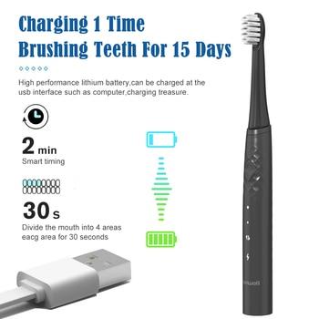 Электрическая зубная щетка Mornwell T27 6