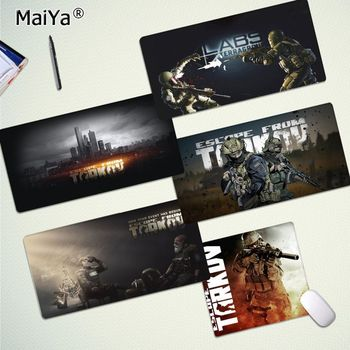 Maiya Non Slip PC Escape from Tarkov Laptop Computer Mousepad Free Shipping Large Mouse Pad Keyboards Mat printio значок escape from tarkov