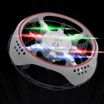 Elektryczna ręka latająca piłka UFO Mini indukcja zawieszenie samolot zabawka dla dzieci Mini indukcja Drone dzieci LED elektryczna elektroniczna zabawka