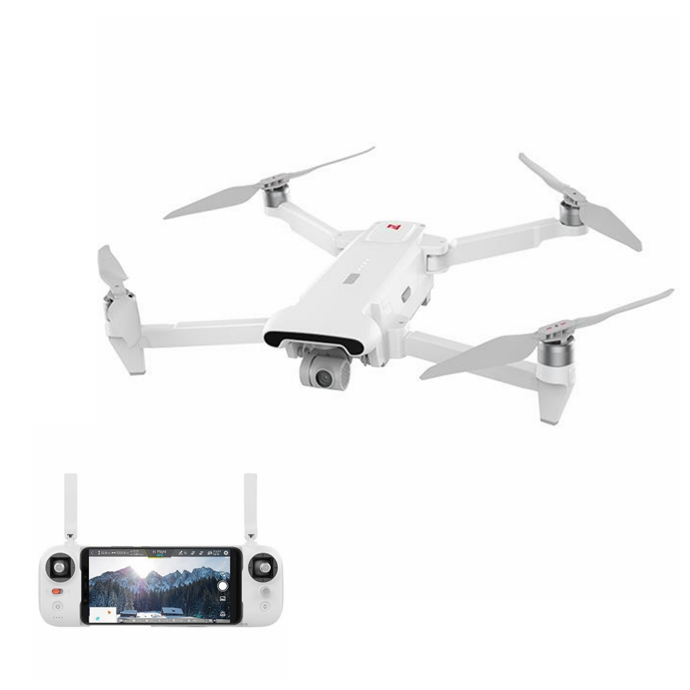 In stock FIMI X8SE drone 4K 5KM camera drone accessory kit 3 axis Foldable full drone set RTF with remote control battery