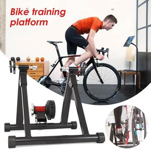 Bike Trainer Home Training 5 Ebenen Fahrrad Trainer Road MTB Bike Trainer Radfahren Roller Indoor Übung Fahrrad Rack Halter
