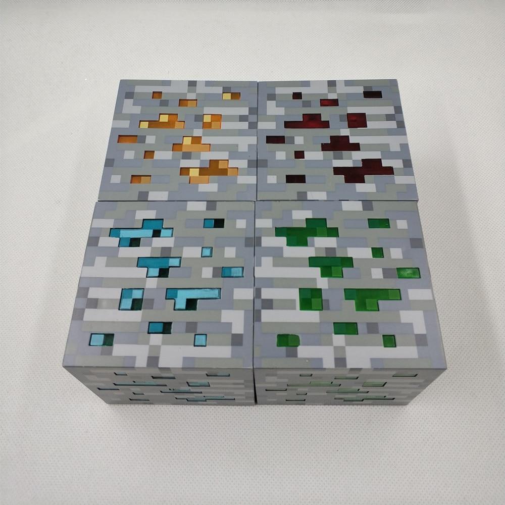 Minecraft RedStone Lampen Set mit 4 Würfeln kaufen