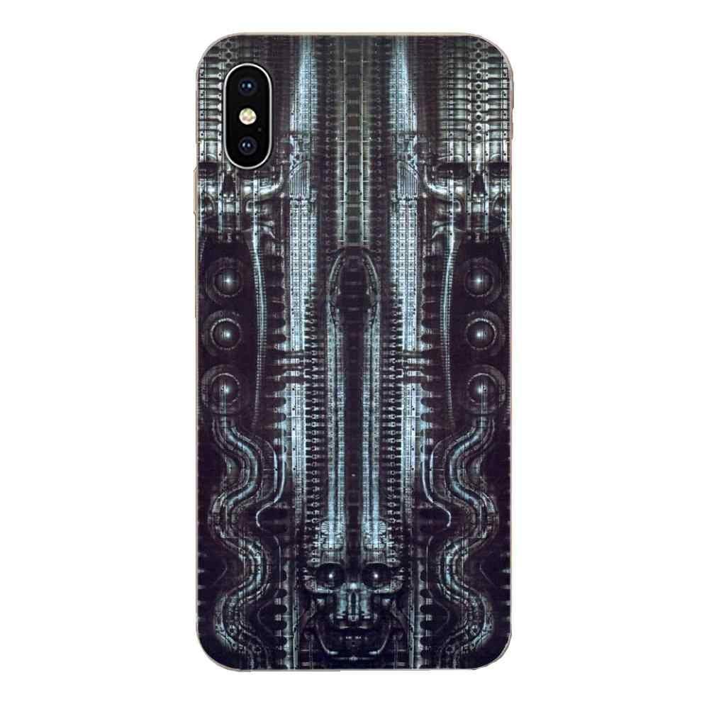 Zachte Covers Case Voor Galaxy Alpha Note 10 Pro A10 A20 A20E A30 A40 A50 A60 A70 A80 A90 M10 m20 M30 M40 Hr Giger