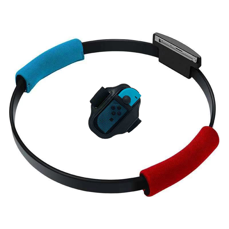 Fitness Ring Ringfit Adventure Adjustable Elastic Leg Strap Sport Band Ring-Con Grips Leg  For Nintendo Switch NS