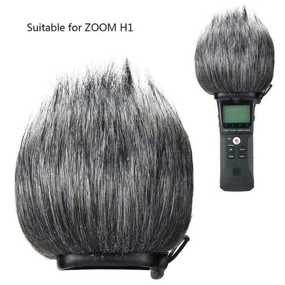 L For Zoom H1 Removable Dustproof Windproof Easy Install Shield Noise Cancellation Outdoor Microphone Windshield Cover