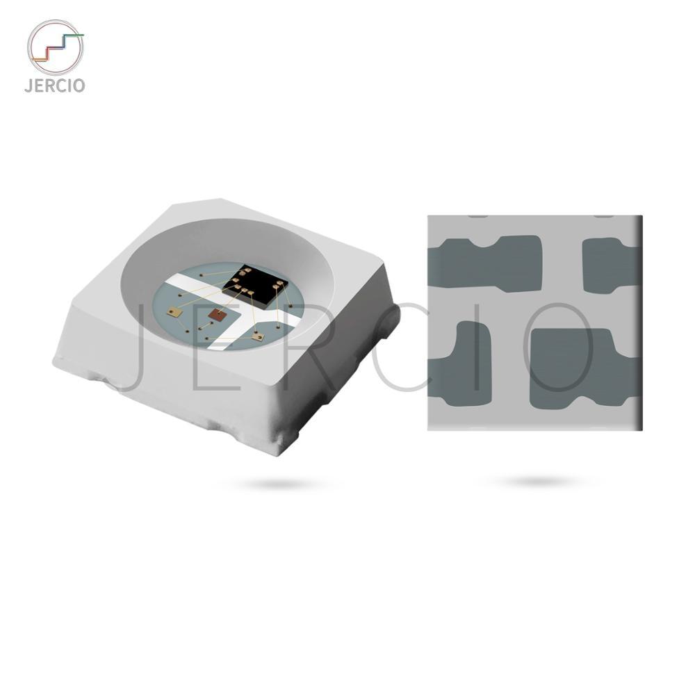 Jercio 10~1000pcs SK6812mini / WS2812mini / XT1505 3535 RGB Programmable White/Black  Individually Addressable SMD LED