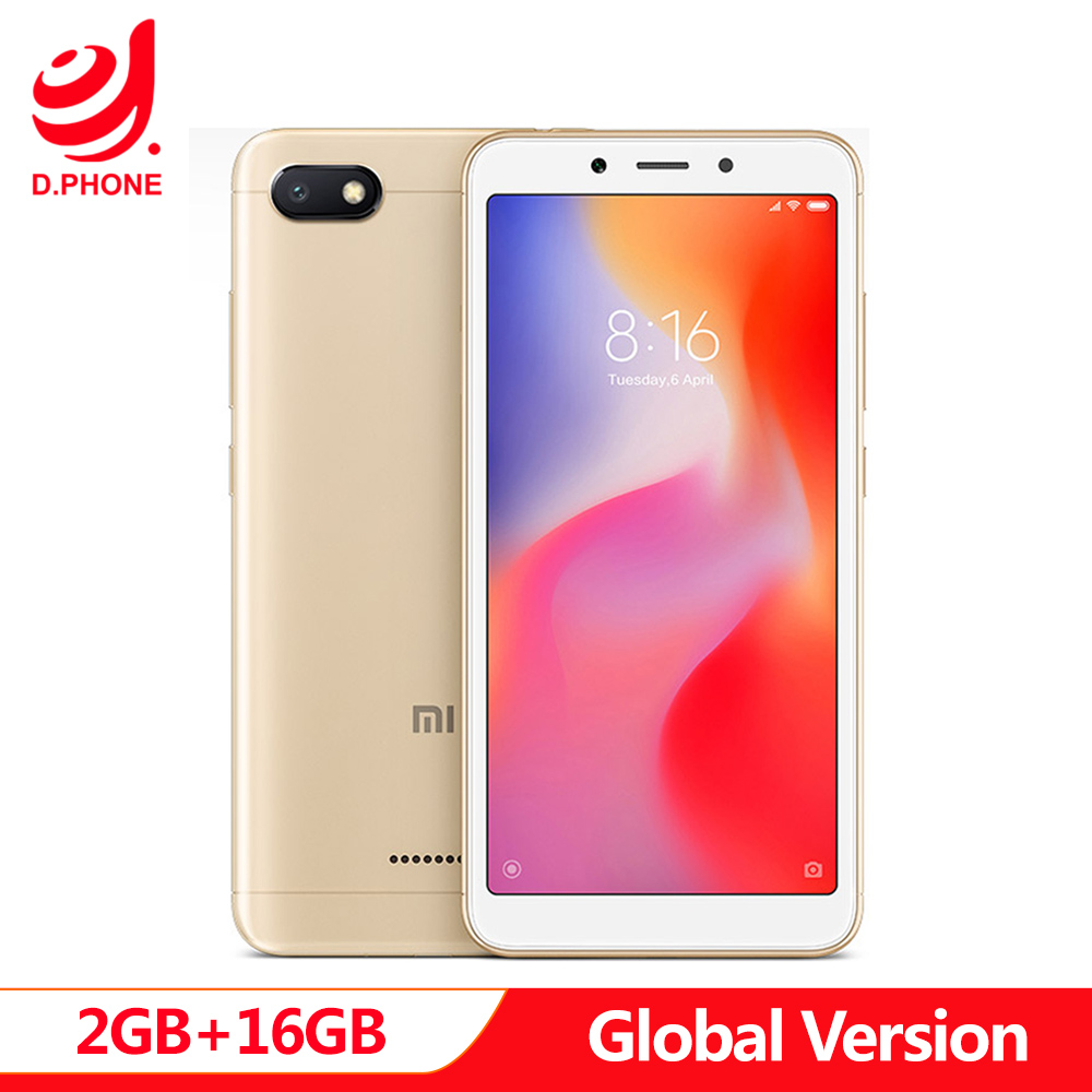 Versão global xiaomi redmi 6a 2 gb 16 gb 5.45