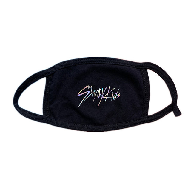 KPOP Stray Kids Laser Printing Mask Face Mask Outer Door Dustproof LEVANTER BANG CHAN KIM WOO JIN LEE FELIX  jh603