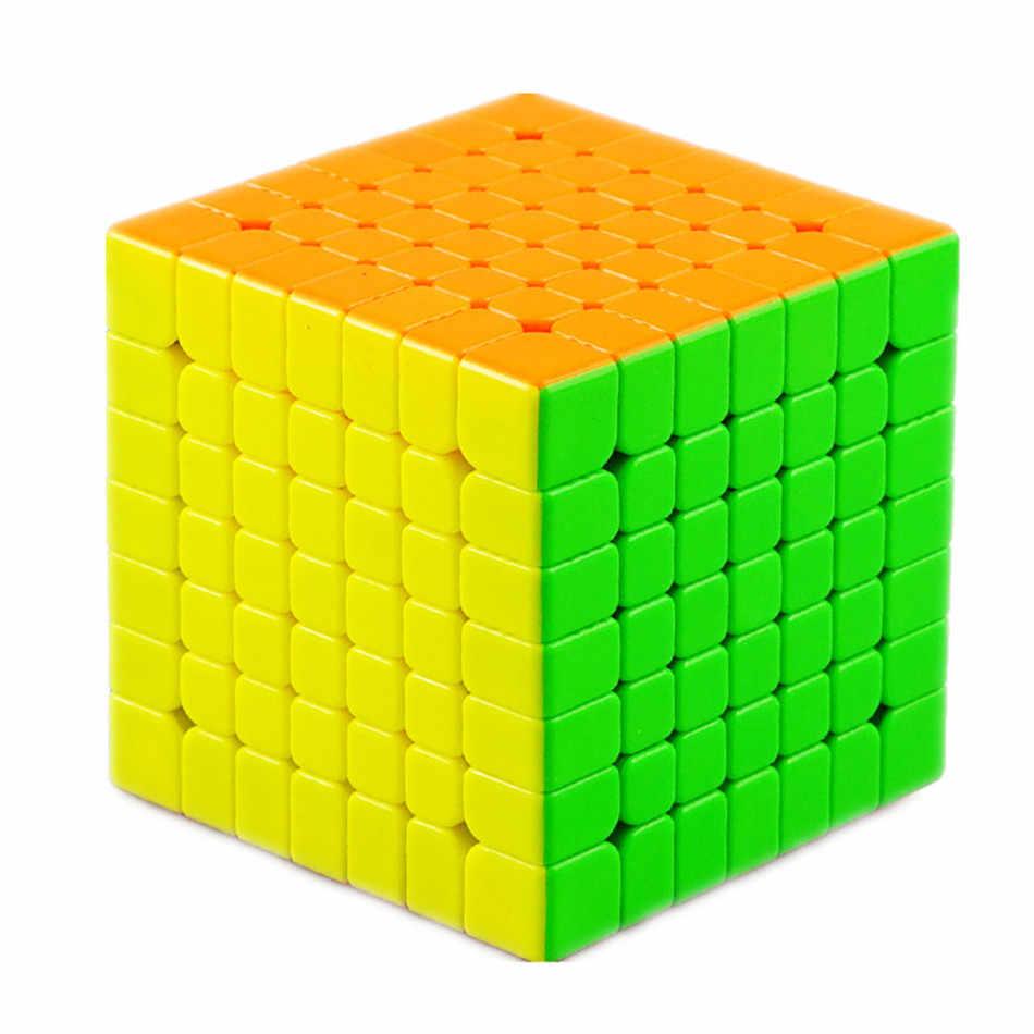 Yongjun Yufu V2M 7x7x7 Магнитный магический куб, профессиональная головоломка , скорость YJ 7x7, обучающая игрушка , подарок