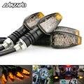 4 teile/satz Universal Motorrad LED Blinker Lange Kurze Blinker Anzeige Lichter Blinkers Blinker Bernstein Farbe Zubehör