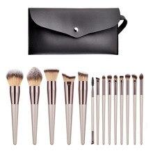 14 Pcs Makeup Brushes Set  Professional Cosmetic Brush Eyeshadow Foundation Veninow