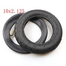 Durable Electric Scooter Inner Tube Outer Tyre 10x2.125 Inflation Wheel Pneumatic Practical Replacement Accessories