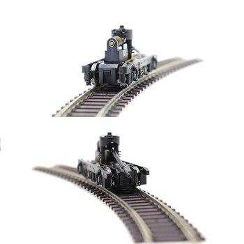 цена на HO model train bogie model toy parts accessories miniature bogie construction for model train manufacturing 1pc
