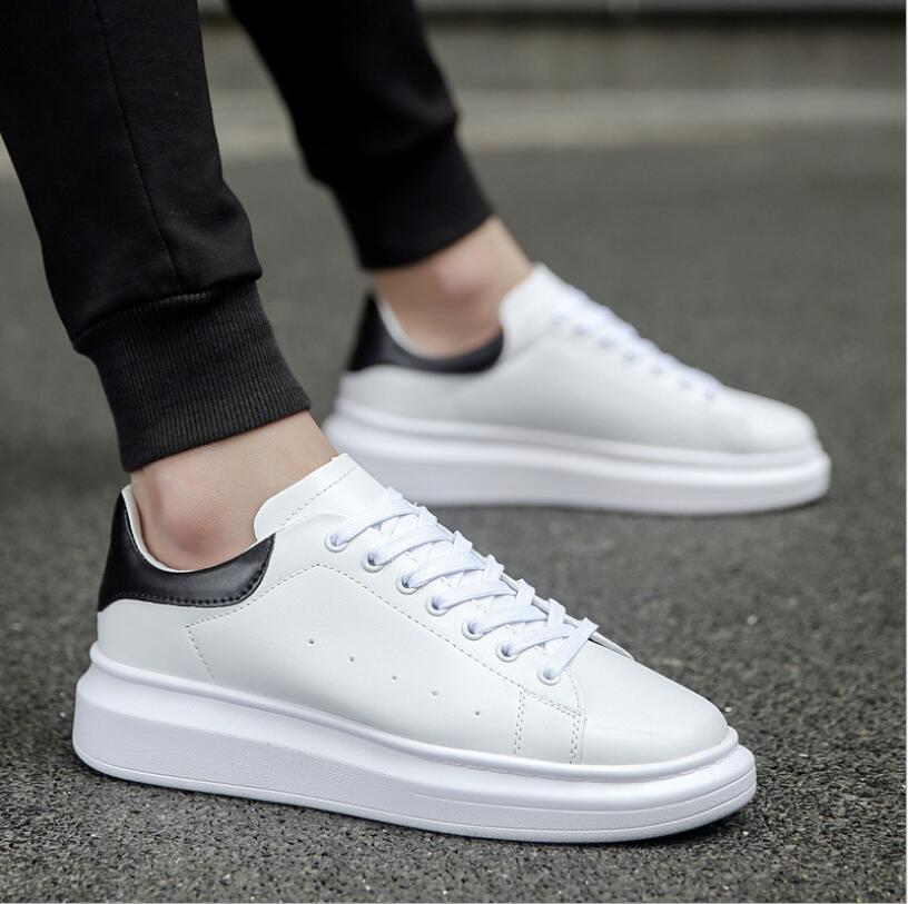Top Quality Men Platform Sneakers White Shoes Woman Csusal Shoes Men Sneaker Shoes Chunky Trainers Walking 2020 Zapatos Hombre