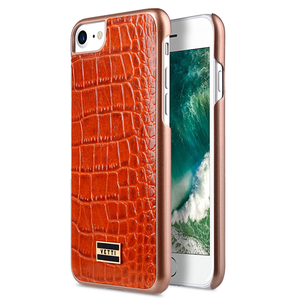 Case For Iphone 7 8 Plus SE 2020 Luxury Genuine Leather Cover Hardmade Back Snap Cover Leather Cases For Iphone SE