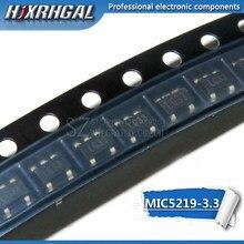 Tela 1PCS MIC5219-3.3BM5 SOT23 MIC5219-3.3YM5 LG33 SOT23-5