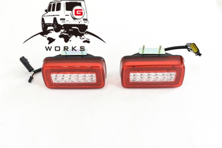 rear bumper LED W463 (12)