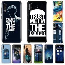 цена Tardis Box Doctor Who TARDIS Luxury Phone Cover For Samsung A20 A30 30s A40 A7 2018 J2 J7 prime J4 Plus S5 Note 9 10 Plus онлайн в 2017 году