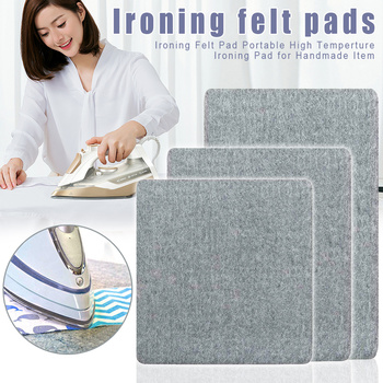 Wool Pressing Mat Ironing Pad High Temperature Ironing Board Felt Press Mat for Home Best Price tanie i dobre opinie Aihogard Other Drewna