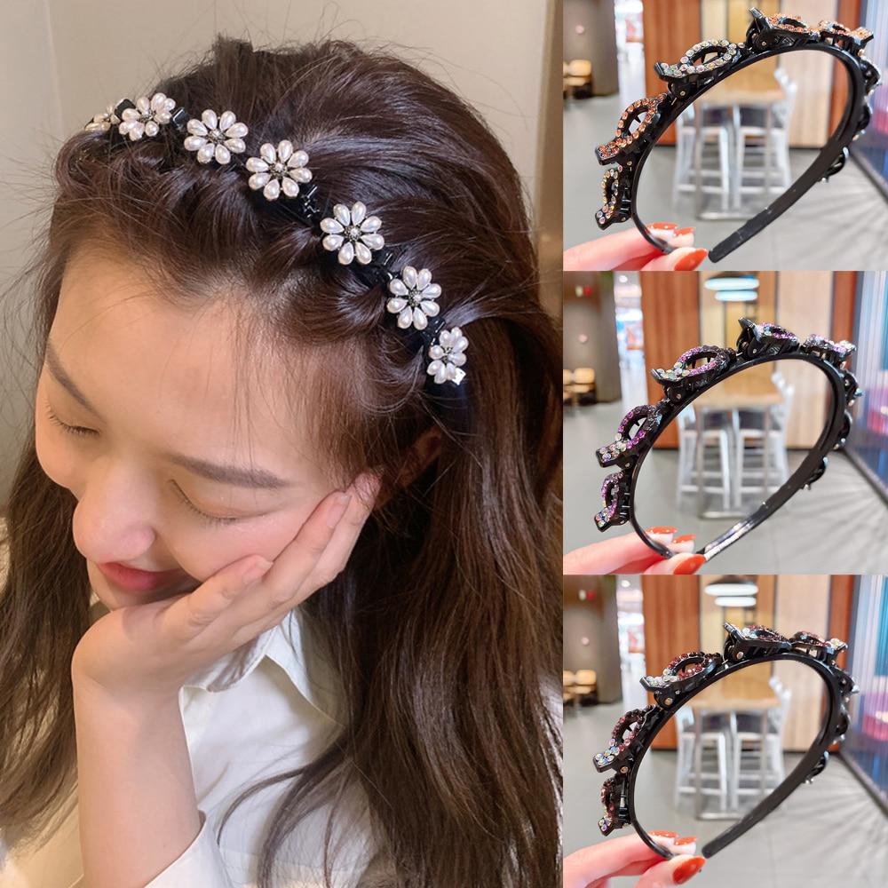 2021 Korean Fashion Hair Band Bangs Braiding Gods