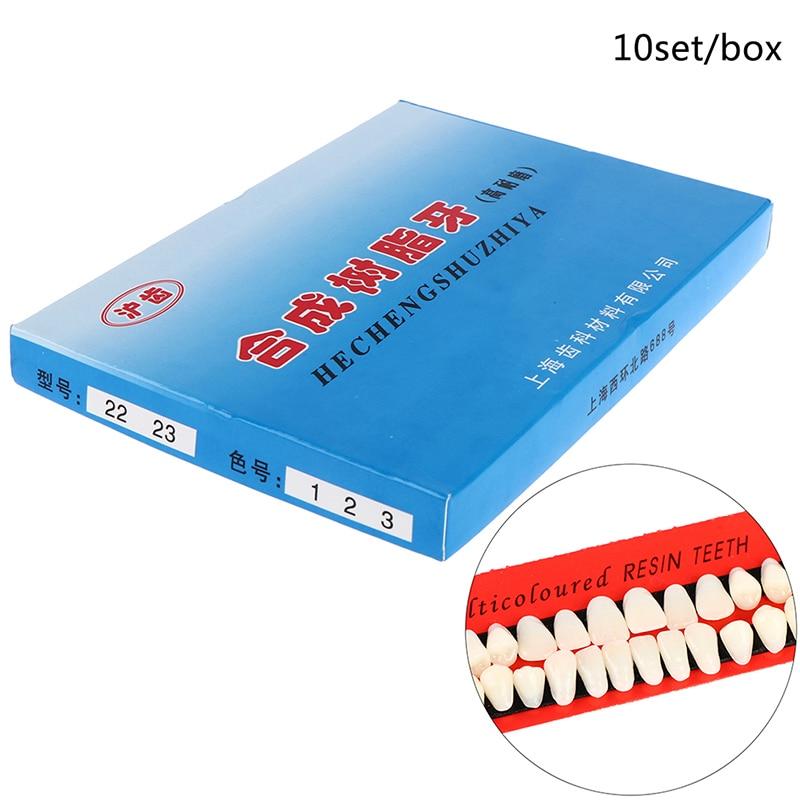 10sets Teeth Teaching Model Pro Dental Material Plastic Dedicated Teeth Dental Material Useful Teeth Care Tool A2 Type