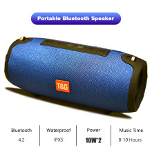 Portabel Bluetooth Speaker 20 W Nirkabel Bass Kolom Tahan Air Luar Ruangan Speaker Mendukung AUX Tf Usb Subwoofer Stereo Loudspeaker Yang(China)