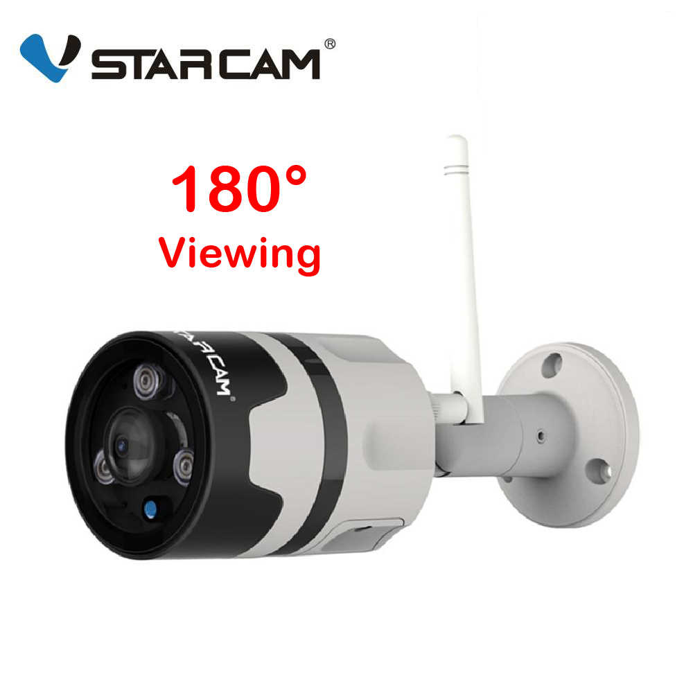 Vstarcam 1080P IP Camera Outdoor Wifi Camera IP66 Waterdichte Bewegingsdetectie Nachtzicht Panoramisch Bullet Camera Onvif eye4