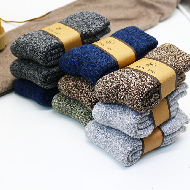 Lot de chaussettes épaisses casual Chaussettes 🎁 Idées Cadeaux Cocooning.net