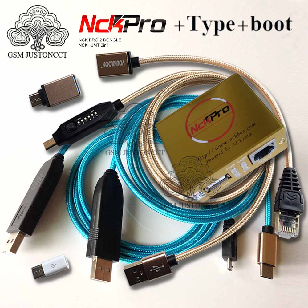 2020 Newest Original NCK Pro Box NCK Pro 2 Box (support NCK+ UMT 2 In 1) + USB Type-C + UMF ALL Boot Cable For For Huawei .....