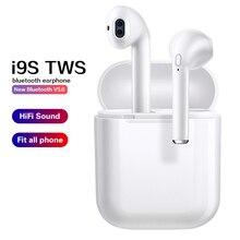 i9s / i12 TWS 5.0 Bluetooth Earphones Wireless Headphones Stereo Sports Earbuds