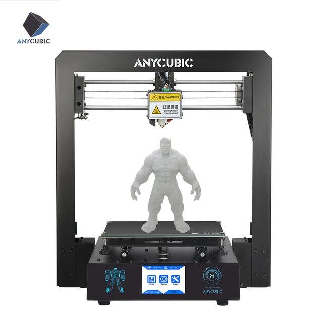 ANYCUBIC 3D מדפסת ערכת I3 מגה עם 1Kg PLA נימה TFT צבע מסך מגע החדש הדפסת DIY סט 3d דרוקר impresora 3d