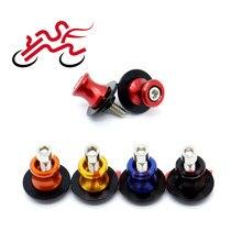 Bras oscillant bobines curseur pour SUZUKI GSR400 GSR600 GSR750 GSF 1200/1250 Bandit GSX650F GSX1250FA SV650 support de moto vis M8