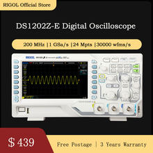 RIGOL DS1202Z-E 200MHz Oscilloscopio Digitale 2 canali analogici()