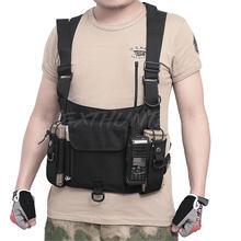 Totrait модный мужской жилет с несколькими карманами и двойными
