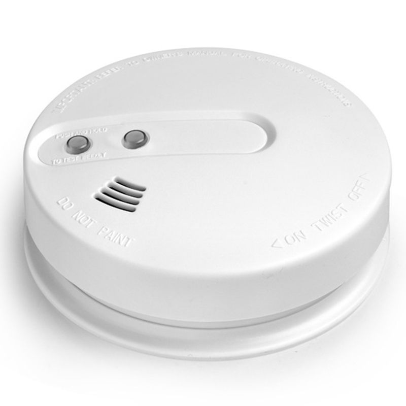 ABKT-433Mhz Wireless Smoke Detector Fire Alarm Sensor For H6 Indoor Home Safety Garden Security