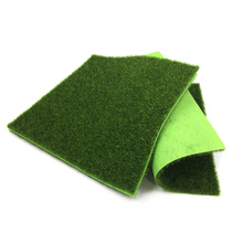 5Pcs cheap artificial grass flower plastic recycling plant fake flowers party decoration items 30x30cm