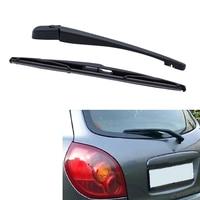 Brazo del limpiaparabrisas de la ventana trasera + cuchilla para la escotilla Nissan ALMERA N16 2000 2006|Cedazo de depósito de limpiaparabrisas|   -