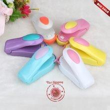 Clipes casa selagem de calor elétrico portátil mini máquina seladora de calor seladora de impulso selo embalagem saco plástico mini saco portátil