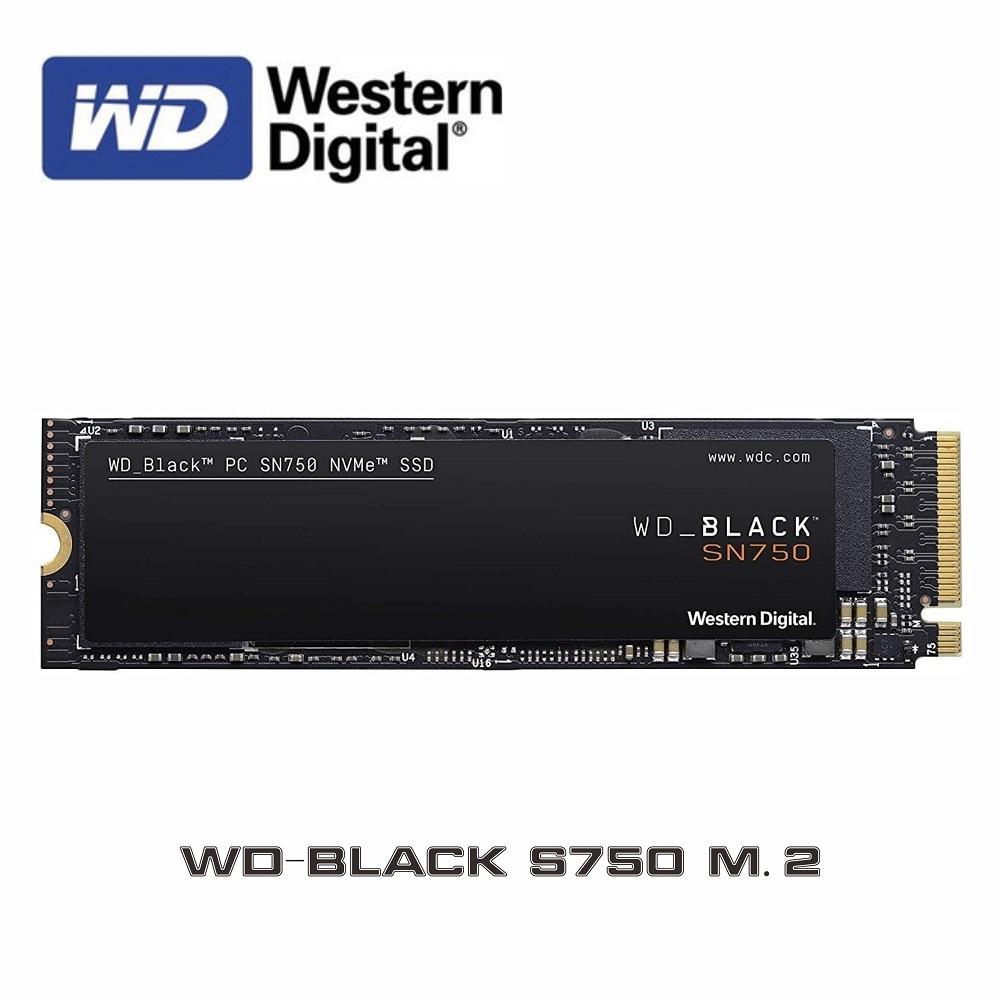ويسترن ديجيتال WD SSD اسود 2 تيرا بايت 1 تيرا بايت 500GB 250GB M.2 2280 NVMe PCIe Gen3 * 4 محرك أقراص داخلي متين SN750 ثلاثية الأبعاد Nand|محركات الأقراص الصلبة الداخلية|   - AliExpress