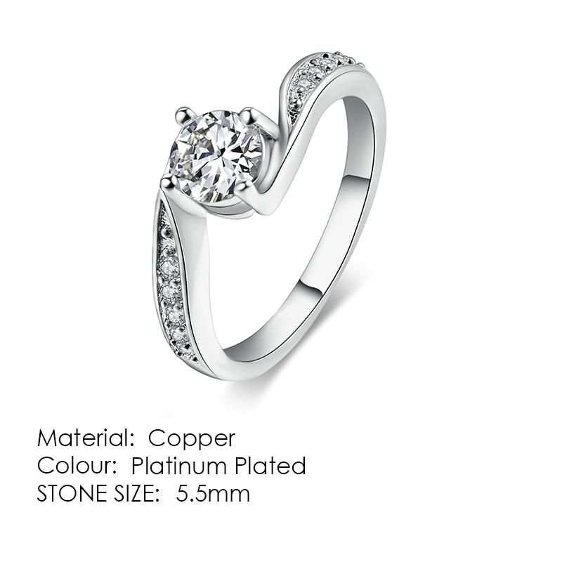ZHOUYANG кольцо для женщин, простой стиль, кубический цирконий, свадебное кольцо, светильник, золотой цвет, модное ювелирное изделие KBR103 - Цвет основного камня: R524